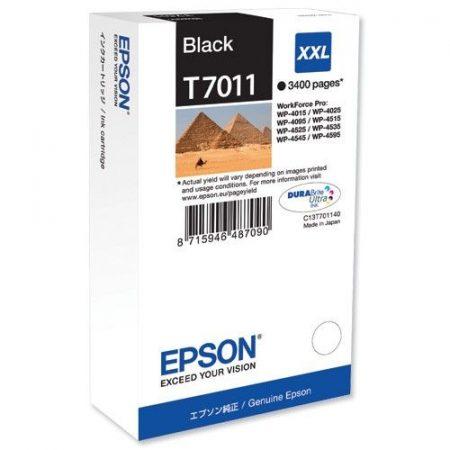 Patron Epson T701140 fekete 3.4K