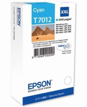 Patron Epson T701240 cyan 3.4K