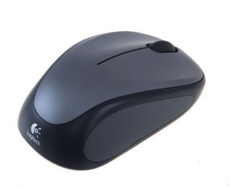 MOU Logitech M235 Wireless Mouse Grey egér