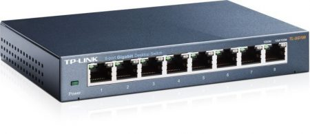 TP-Link TL-SG108 8port Gigabit Switch 8xGigabit
