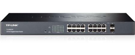 TP-Link TL-SG2216 16port Switch 16xport,Fémház