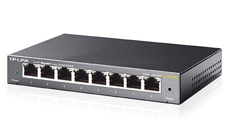 HUB TP-Link TL-SG108E 8 Port Gigabit Switch