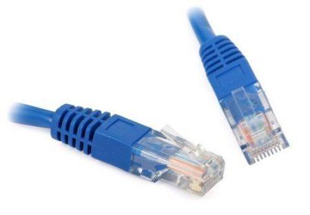 CAB SSTP Patch kábel 5m CAT6 kék