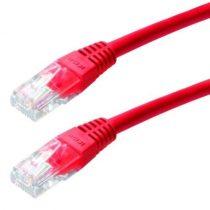CAB SSTP Patch kábel 5m CAT6 piros