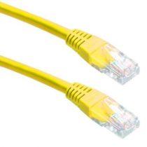 CAB SSTP Patch kábel 5m CAT6 sárga