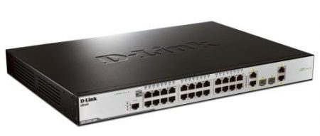 D-Link 24 port DES-3200-28P Switch