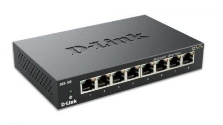 D-Link 8 port DGS-108 Switch