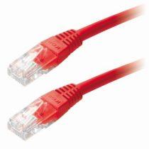 CAB SSTP Patch kábel 1m CAT6 piros