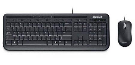 KYB Microsoft Desktop 600 USB bill.+egér