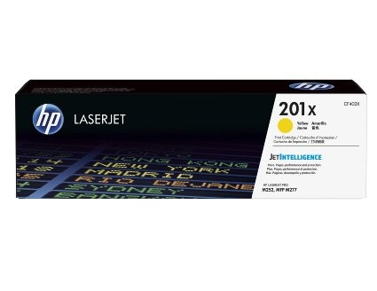 HP Toner 201X CF402X 2,8k Yellow