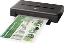 Canon IP110 PIXMA A4 WL hord.színes tintas. + akku