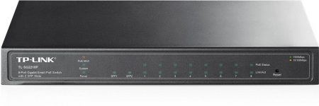 TP-Link TL-SG2210P Smart PoE Switch Fém,8xGb,2xSFP