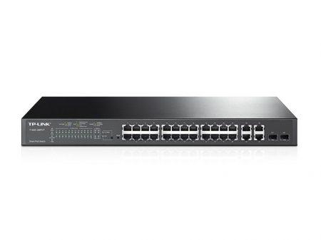 TP-Link TL-SL2428P Switch Fém,24xGb,4xPoE