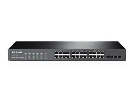 TP-Link T1600G-28TS Smart Switch Fém,24xGb,4xSFP