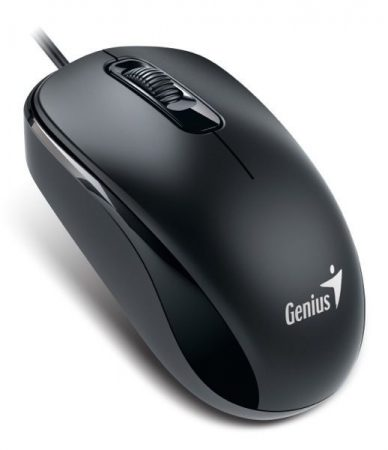 Genius egér DX-110 fekete USB