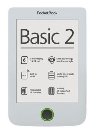 PocketBook Basic 2 E-book olvasó fehér