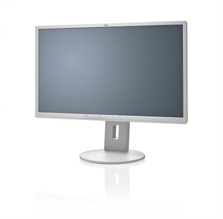 Fujitsu Display B24-8 TE LED IPS fehér monitor