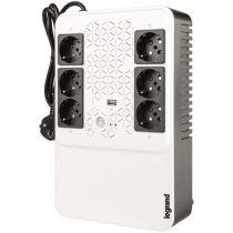 Legrand KEOR-M 600VA UPS 4+2xSCH, USB-A, AVR