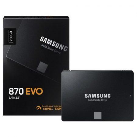 "SSD Samsung 250GB 2,5"" SATA3 870 EVO"