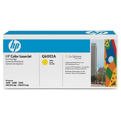 Toner HP Q6002A Sárga (CLJ 1600/2600)